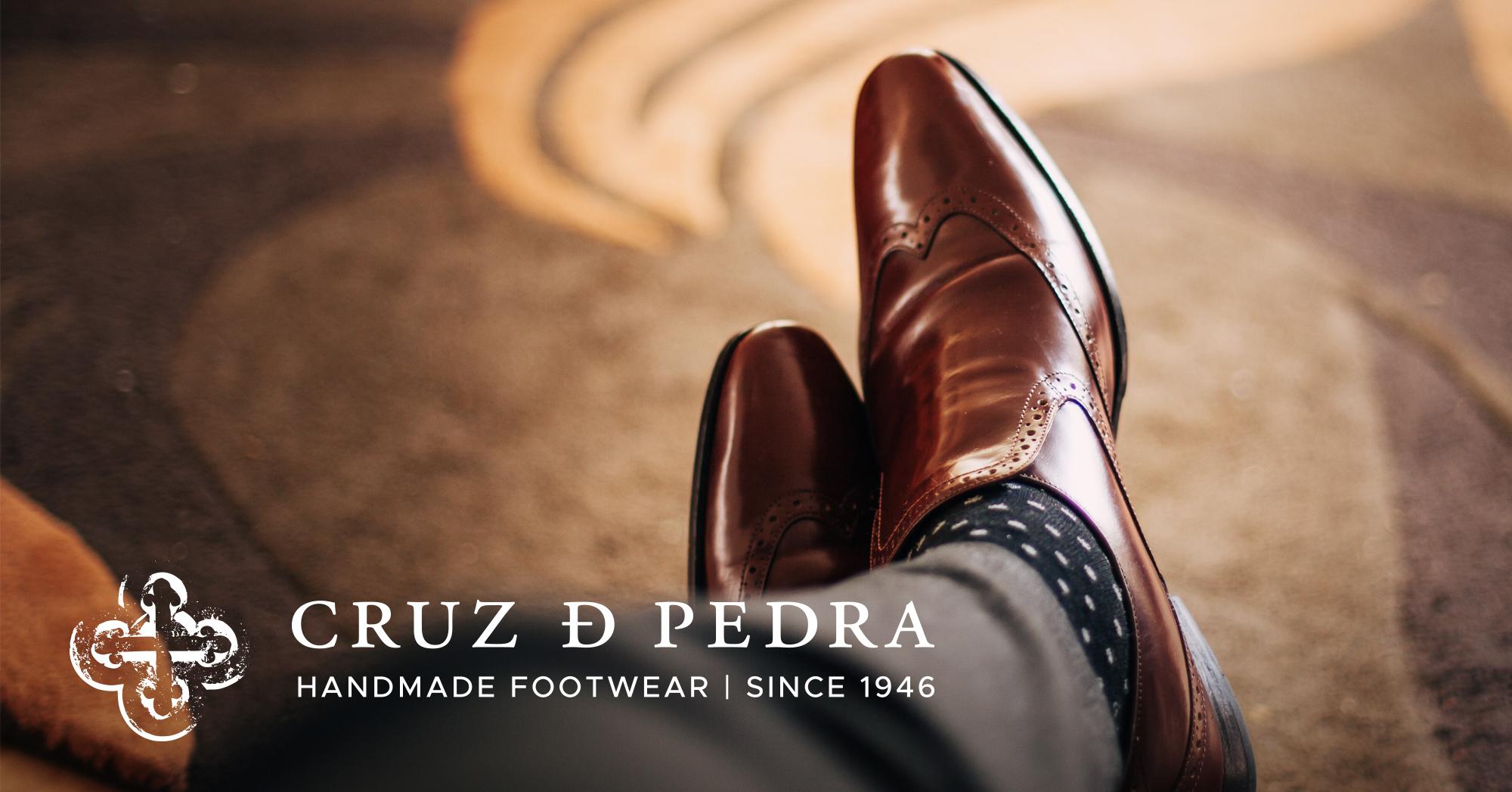Portuguese handmade footwear for men, since 1946 | Cruz de Pedra